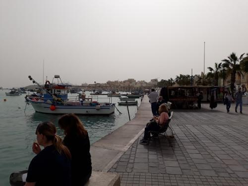 Marsaxlokk - väike kaluriküla
