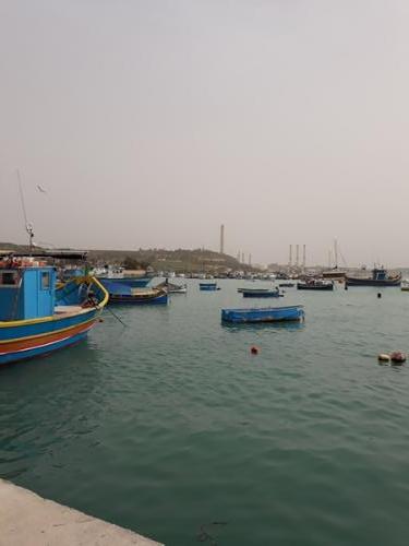 Marsaxlokkis kaluri paadid