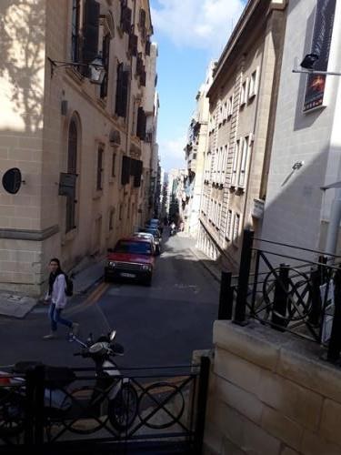 Valletta tüüpiline tänav