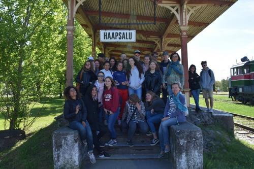 Itaalia vahetusõpilased Eestis