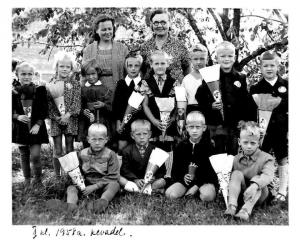 1. klass 1958. aastal