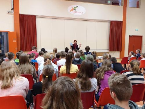 Külas käis Krista Kumberg